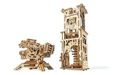 UGears Archballista-Tower mechanical wooden model KIT 3D puzzle Assembly
