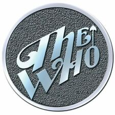 The Who flecha banda logotipo de metal pin producto oficial broche insignia