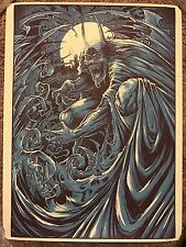 Godmachine Batman Dark Knight Movie Print Comic Poster Mondo Red Rain Dracula