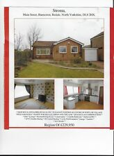 Detached Bungalow  Burnerston DL8 2HX