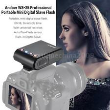 Andoer Portable Digital Mini Flash Speedlite for Nikon Canon Camera Camcorder