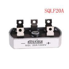1Pcs Bridge Rectifier Three/3 Phase Diode 20A Amp 1000V SQL20A New+U