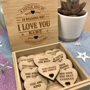 Personalised 10 Reasons Why I We Love You - Mum Birthday Gift Christmas Keepsake