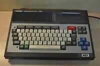 Toshiba MSX HX-10 64K HomeComputer MSX Ver.1.0 Toshiba Corporation Made in Japan