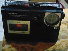 Sanyo M2402-3 2Band Radio Cassette Player Recorder