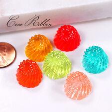12mm 12pcs Mixed Fake Jelly Candy Flatback Resin Cabochons Cabochon C16