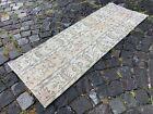 Patchwork, Handmade rug, Turkish rug, Vintage rug, Runner, Wool | 1,7 x 4,9 ft