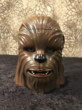 Disney Star Wars Movie CHEWBACCA Plastic Mug Drink Snack Cup Hinged Lid Gift