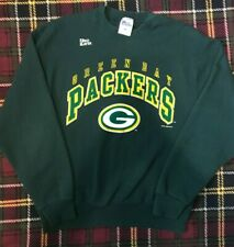 New listing Vintage 1996 Green Bay Packers Crewneck Sweatshirt Pro Player USA Sz Large 90s