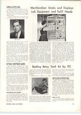 1960 PAPER AD ITC Modelcraft Toy Company Battling Betsy US Army Tank Motor