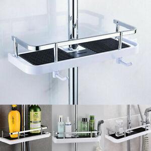 Bathroom Shelf Shower Pole Caddy Rack Storage Organiser Tray Holder Accessories.