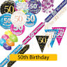 AGE 50 - Happy 50th Birthday Party Decorations (Oaktree) Banners & Bunting