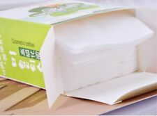 100pcs Facial Wipes Face Cleansing Puff Nail Polish Care Ultra-Thin Soft Cotton