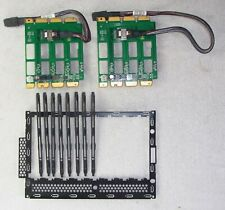 HDD CAGE Umbau Kit 8x 3.5 Zoll Backplane A3C40125920 PRIMERGY TX200 S7 TX2540 M1