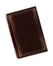 Pioneer 12x15 Postbound Album Fabric Burgundy