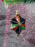 Stern | NEU Weihnachtsbaum Christbaumschmuck Lauscha Glas Figur Ornaments T-L3