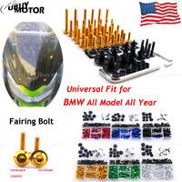 For BMW R1200GS 2013 2014 2015 2016 CNC Complete Fairing Bolt Kit Body Screws
