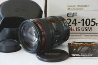 [Mint in Box!] Canon EF 24-105mm F4L IS USM Zoom Lens from Japan