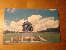 Vintage Postcard The Pioneer Family, Statue On The Capitol Grounds, North Dakota
