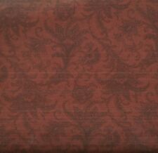 Compose Paisley Toile floral paislies rust brown fabric