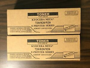 Qty 2 - Trusted Compatible Black Toner FOR Kyocera FS-720,820,920,1016 machines