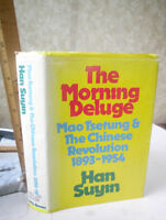 THE COMING DELUGE,1972,Han Suyin,1st Edition,Illust,DJ