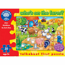 Orchard Who's on the Farm Puzzle (20pcs)