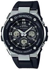CASIO GST-W300-1A G-SHOCK G-STEEL Tough Solar Black Men's Watch from JAPAN