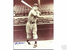 LOU BOUDREAU   BOSTON RED SOX INDIANS HALL OF FAME  AUTOGRAPHED 8 X 10 PHOTO