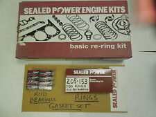 FORD 302 C.I. ENGINES FEDERAL MOGUL RERING KIT #205-153 .030-.010