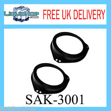 SAK-3001 VAUXHALL OPEL CORSA B 1993 - 2000 FRONT DOOR SPEAKER ADAPTOR KIT 6.5""
