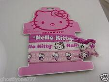 Hello Kitty sanrio  bracelets or pony tail holders pink white