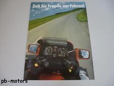 . Original BMW Prospekt Gewinnspiel  1985