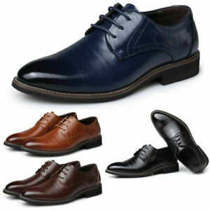 Men's Wholesale Formal Business Oxfords Leather Shoes Leisure Casual Comfortable