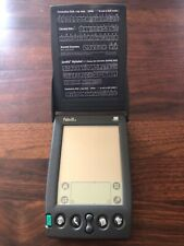 Palm Pilot Iiix Handheld working with Flip Cover & Stylus