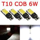 4PCS T10 W5W 194 168 LED 5W COB No Error Canbus Side White Lamp Wedge Light Bulb