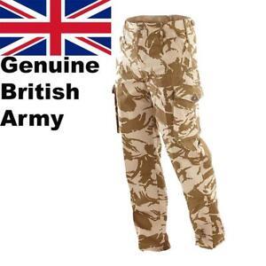 Genuine British Army Windproof Desert Sand Combat Trouser Military Issue New