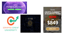 4 TOP Crypto Course + BONUS Value :+ $4.000 -See the List of Courses