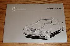 Original 1999 Mercedes Benz E Class Owners Operators Manual 300 320 430 55 AMG