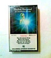 Vintage Barbra Streisand A Christmas Album Cassette Tape - Rare New Sealed 1967