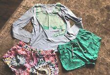 Blue Green Cat & Jack Pocket Shorts T-Shirt Xl 12 14 16 Gymboree Tween