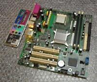 Dell K8980 0K8980 Dimension 3000 Socket 478 Motherboard with Back Plate and CPU