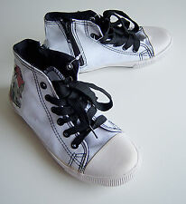KIDS CONVERSE STYLE BOOTS TRAINERS PUMPS UK KIDS  SIZE 13