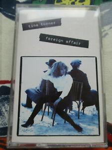 TINA TURNER FOREIGN AFFAIR 1989 CAPITOL RECORDS AUDIO CASSETTE ALBUM