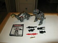 Transformers G1 Grimlock & Sludge w Weapons Lot