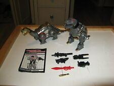 Transformers G1 Grimlock & Sludge w Weapons Lot
