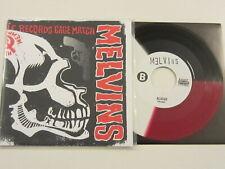 "MELVINS / UNSANE Amphetamine Reptile Records Cage Match 7"" Red/White/Black Vinyl"
