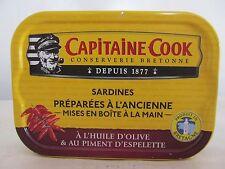 Capitaine Cook, Sardinen in Olivenöl mit Chili-Espelette, Reingewicht: 115g