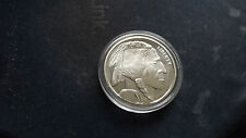 1 OZ SILVER .999 BUFFALO ROUND / COIN , SOLID SILVER BULLION , GOLDEN STATE MINT