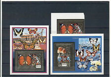 Butterflies Mushrooms Boy Scouts Insects Scouting Congo MNH stamp set